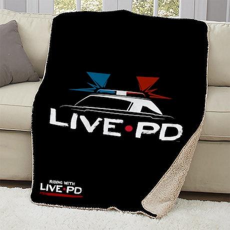 Live PD Sherpa Blanket