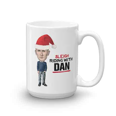 Live PD Sleigh Riding With Dan 15 oz Mug