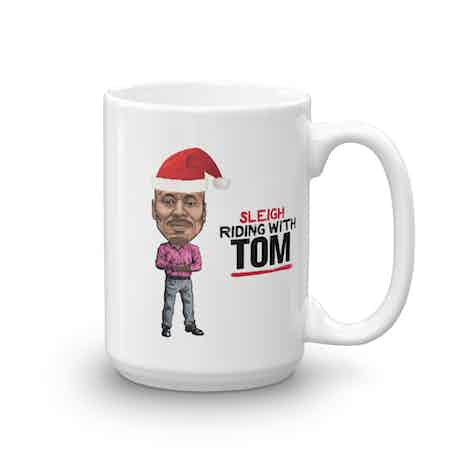 Live PD Sleigh Riding With Tom 15 oz Mug