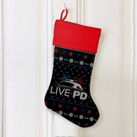 Live PD Holiday Stocking