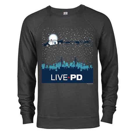 Live PD Holiday Sleigh Lightweight Crewneck Sweatshirt