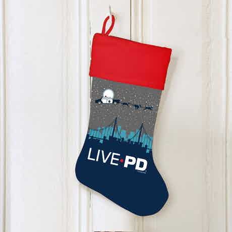 Live PD Holiday Sleigh Stocking