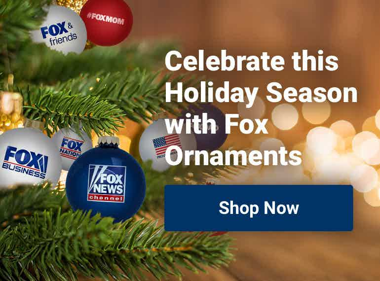 Fox News Shop Holiday Ornaments