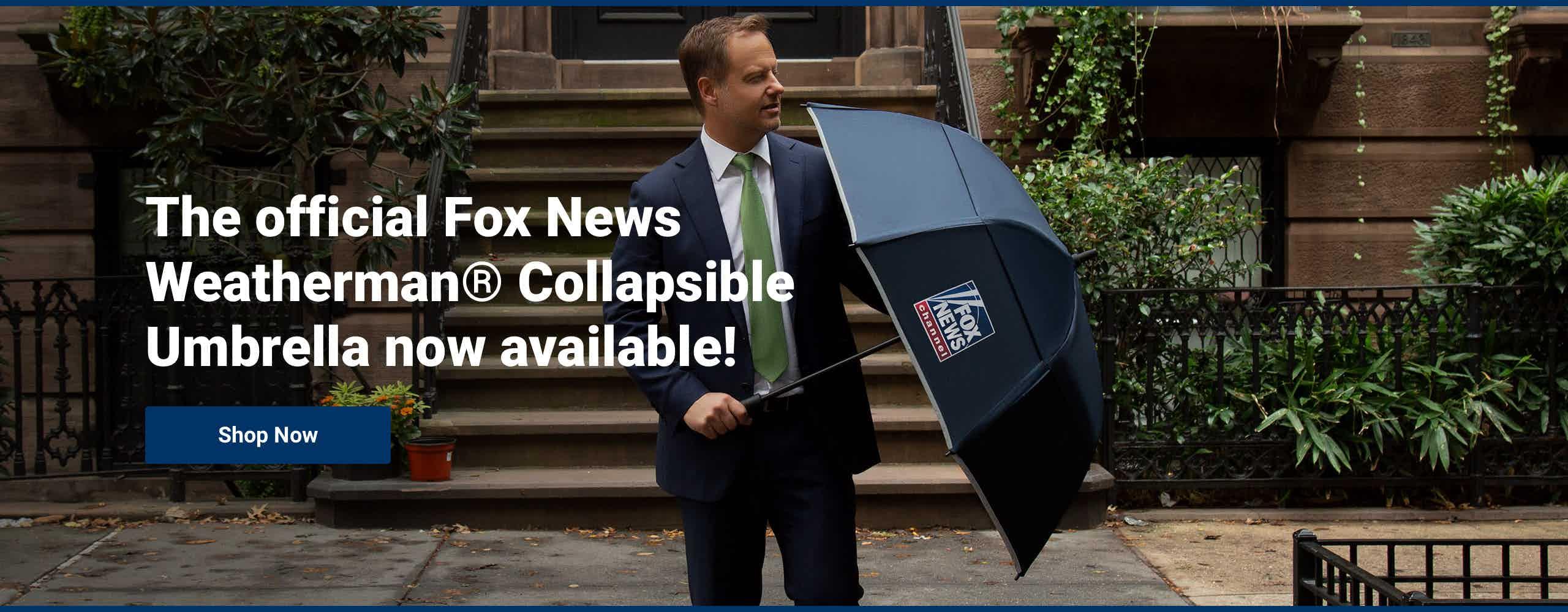 Fox News Collapsible Umbrella
