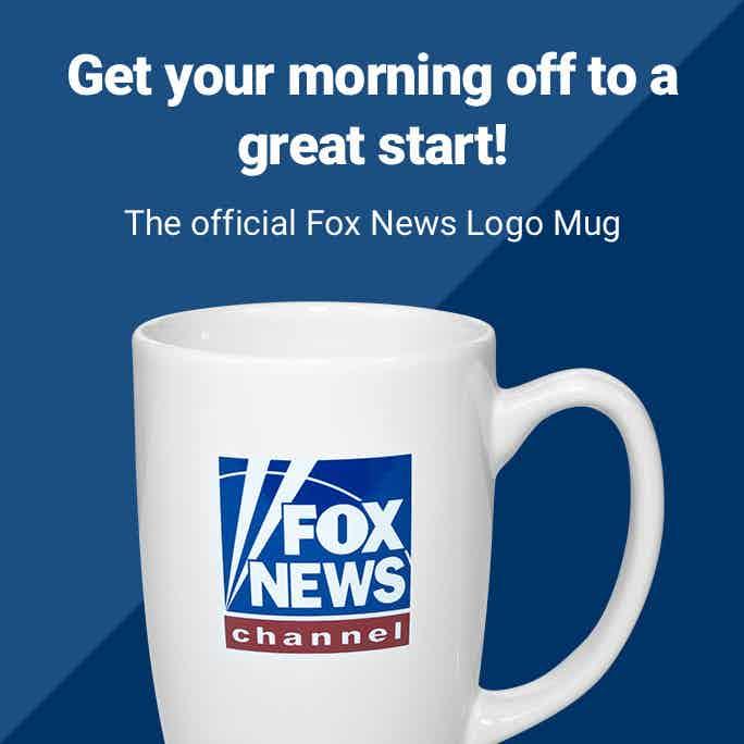 Official Fox News Sand Carved Ceramic Coffee Mug
