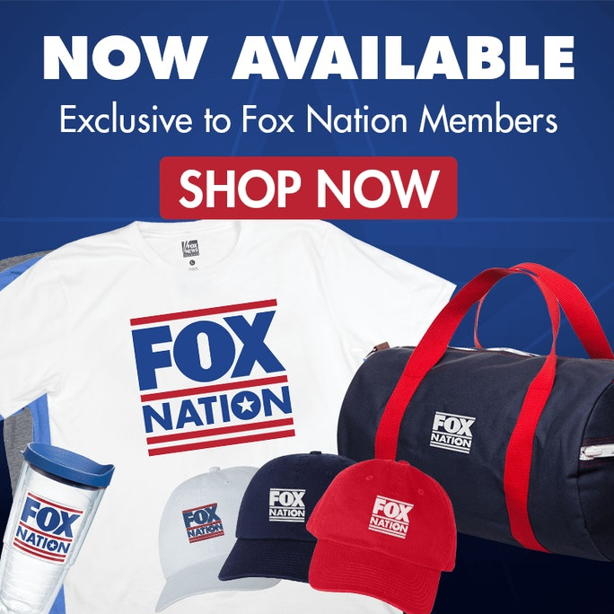 Join Fox Nation to receive exclusive Fox Nation gear and content!