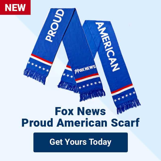 Fox News Proud American Scarf