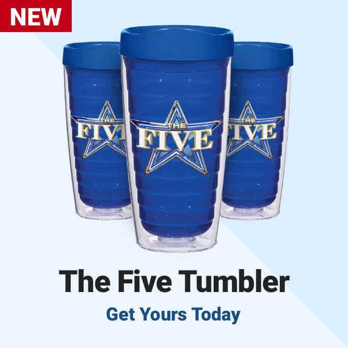 The Fox News The Five Tumbler