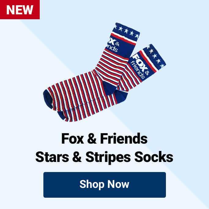 Fox News Fox & Friends Stars & Stripe Socks