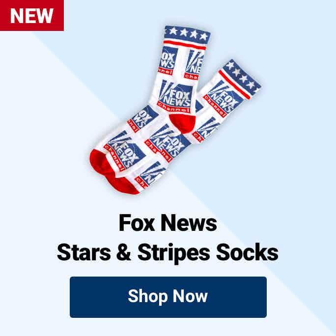 Fox News Stars & Stripes Socks