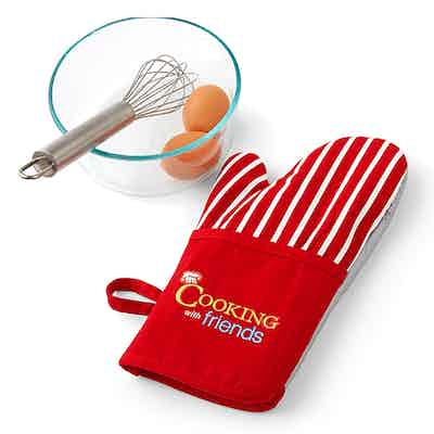 Fox News Fox & Friends Cooking With Friends Oven Mitt