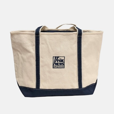 Fox News Large Zippered Tote