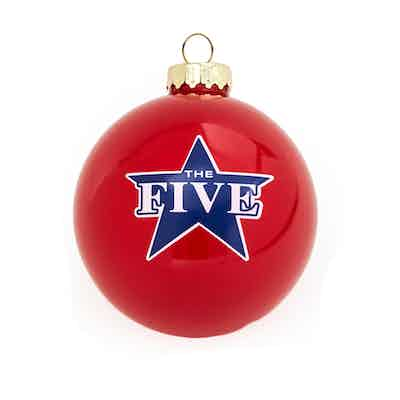 Fox News The Five Holiday Ornament