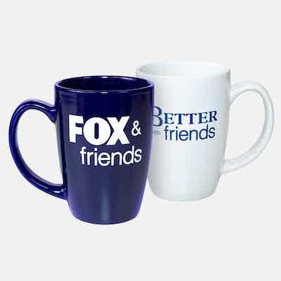 "Fox News Fox & Friends ""Better With Friends"" Mug Set"
