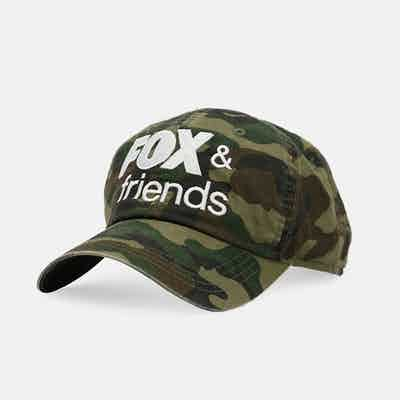 Fox News Fox & Friends Camo Hat