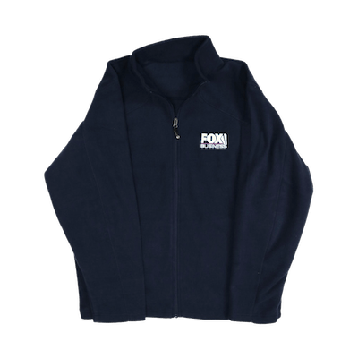 Fox Business Men's Navy Fleece Jacket