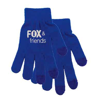 Fox & Friends Logo Gloves
