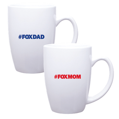 Fox News Fox Mom Fox Dad Logo Bundle