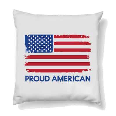 Fox News Proud American Throw Pillow