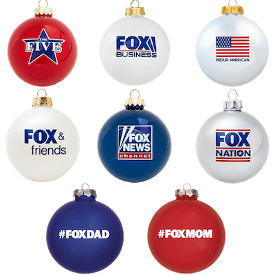 Fox Ornaments Bundle