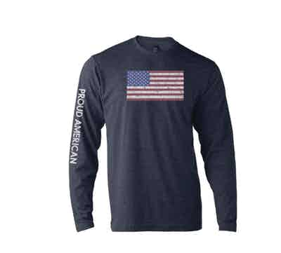 Fox News Proud American Long Sleeve T-shirt