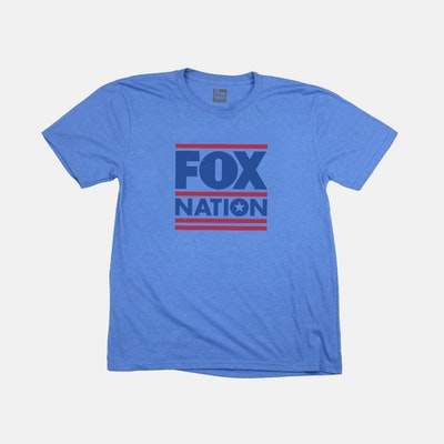 Fox Nation Logo Blue T-Shirt